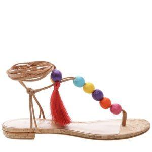 Schutz Deja Lace Up Sandal